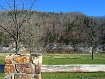 Arkansas overziet royalty-vrije stock foto