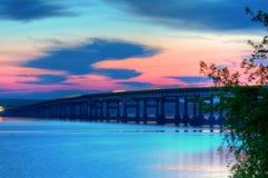 Arkansas River Bridge Royalty Free Stock Photography