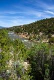 Arkansas River in Colorado Royalty Free Stock Photos