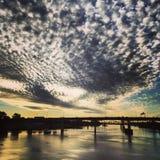 Arkansas soluppgång Royaltyfria Bilder