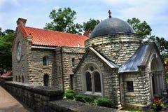 Arkansas` St. Elizabeth`s Catholic Church. St. Elizabeth`s Catholic Church in Eureka Springs, Arkansas is a historical landmark Royalty Free Stock Photography