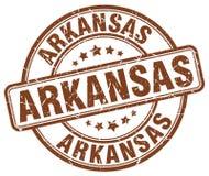 Arkansas stamp. Arkansas round grunge stamp isolated on white background. Arkansas