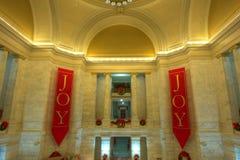 Arkansas stanu Capitol przy bożymi narodzeniami Zdjęcia Royalty Free