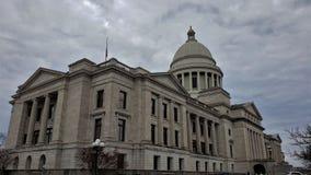 Arkansas statKapitolium Little Rock fotografering för bildbyråer