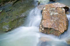 Arkansas Stream with Rocks. Arkansas Rushing Stream with Rocks Royalty Free Stock Images