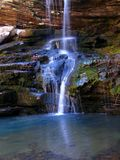 Arkansas waterfall. Waterfall in the Boston Mountains of Arkansas Royalty Free Stock Photography