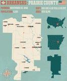 Arkansas: Zasolony okręg administracyjny Fotografia Stock