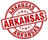 Arkansas znaczek Obrazy Royalty Free