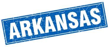 Arkansas znaczek royalty ilustracja
