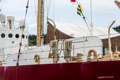 Arkany na starym statku Zdjęcia Stock
