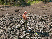 arkeolog 11 Fotografering för Bildbyråer