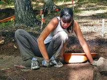 arkeolog 6 fotografering för bildbyråer