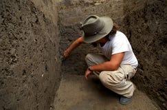 arkeolog Arkivfoto
