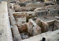 arkeologi Arkivfoton