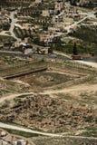 arkeologi israel Arkivfoto