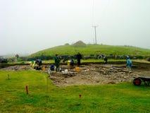 Arkeologisk pik, Orkneys royaltyfri bild