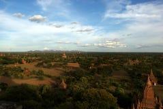 Arkeologisk plats av Bagan - Myanmar | Burma vid JeeWee 2009 Royaltyfri Foto