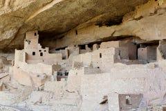 Arkeologisk plats av Mesa Verde fotografering för bildbyråer