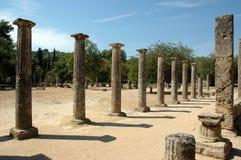 Arkeologisk plats av Olympia Royaltyfri Bild