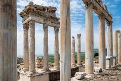 Arkeologisk plats i Turkiet Royaltyfria Foton