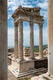 Arkeologisk plats i Turkiet Arkivfoton