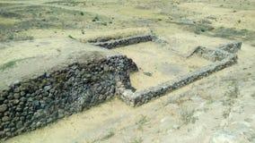 Arkeologisk plats: Ixtépete Guadalajara Fotografering för Bildbyråer