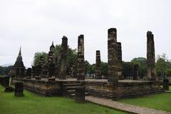 Arkeologisk plats Sukothai Royaltyfria Foton