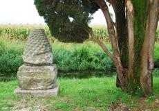 Arkeologiska Aquileia går Royaltyfria Bilder