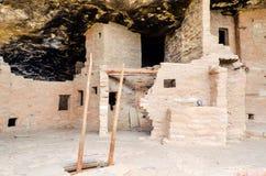 Arkeologiska platser - Mesa Verde National Park - USA Arkivbilder