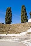 Arkeologiska utgrävningar av Pompeii, Italien Fotografering för Bildbyråer