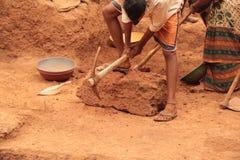Arkeologiskt avbrott vaggar Arkivfoto