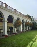 Arkeologiskt Larcomar museum i Lima Peru Royaltyfri Foto