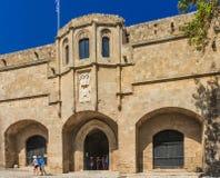 Arkeologiskt museum i den gamla staden Rhodes ö Grekland Arkivfoton