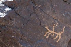 Arkeologiskt och grafitti på stenar royaltyfri foto