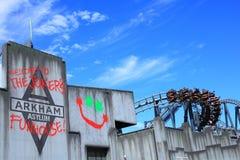 Arkham收容所设置 免版税图库摄影