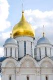 Arkhangel kościół. Moskwa Kremlin. fotografia stock