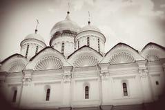 Arkhangel kościół. Moskwa Kremlin. obrazy stock