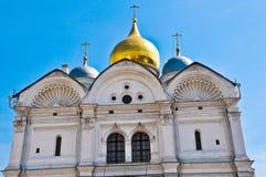 Arkhangel kościół w zimie zdjęcia stock