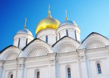 Arkhangels' Cathedral in Moscow Kremlin. Stock Photography