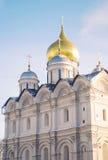 Arkhangels' katedra w Moskwa Kremlin. Zdjęcia Royalty Free