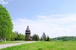 arkhangels kościół drewniany północny Russia fotografia royalty free