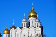 Arkhangels kościół. Moskwa Kremlin Zdjęcia Stock