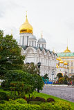 Arkhangelsk cathedral in Kremlin Stock Photo