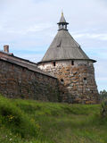 Arkhangelsk tower of the Solovki monastery, Russia Royalty Free Stock Photography