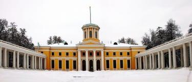arkhangelskoe μνημείο κτημάτων Στοκ εικόνα με δικαίωμα ελεύθερης χρήσης