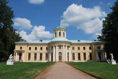 arkhangelskoye μουσείο κτημάτων Στοκ εικόνα με δικαίωμα ελεύθερης χρήσης