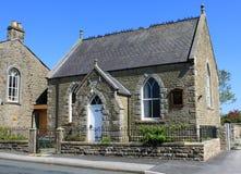 arkholme卫斯理公会派教堂的lancashire英国 库存照片