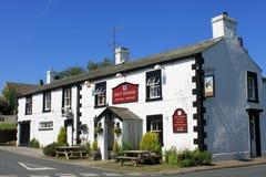 arkholme βρετανικό χωριό μπαρ αλόγων κόλπων lancashire Στοκ Εικόνες