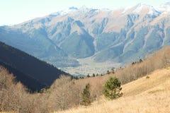 Arkhyz στο φθινόπωρο (Βουνά Καύκασου) Στοκ Εικόνες
