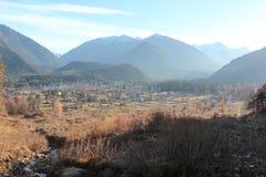 Arkhyz all'autunno (Montagne di Caucaso) Fotografie Stock Libere da Diritti